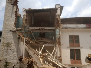 Hostel Demolation After Second Earthquake 2