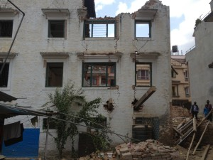 Hostel Demolation After Second Earthquake 3